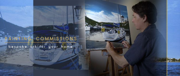 <i>Painting Commissions</i><span>Professional painting commissions</span>