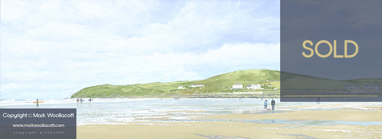 <i>Croyde Beach and Baggy Point</i><span>SOLD at Echo Beach Gallery</span>