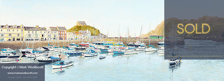 <i>Ilfracombe Harbour, Early Evening</i><span>SOLD at Driftwood Gallery</span>