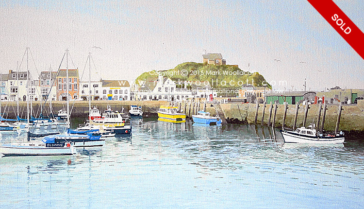 <i>Ilfracombe Harbour — No. 3</i><span>SOLD at Driftwood Gallery</span>