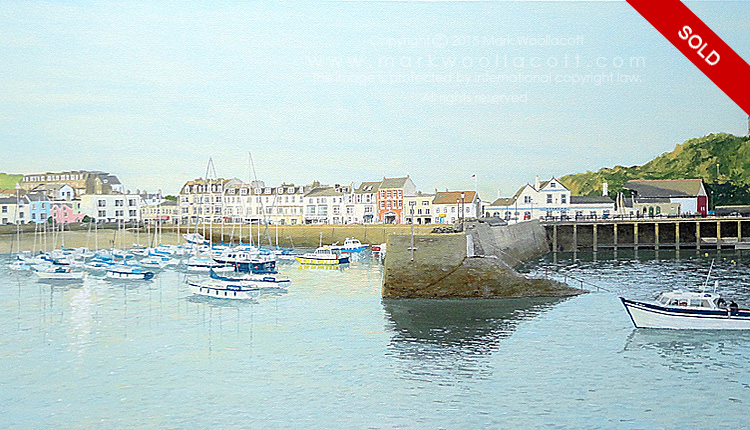 <i>Ilfracombe Harbour — No. 4</i><span>SOLD at Driftwood Gallery</span>