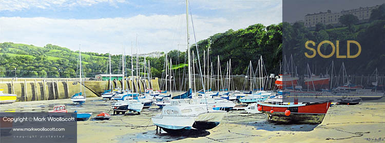 <i>Ilfracombe Harbour — No.7</i><span>SOLD at Echo Beach Gallery</span>