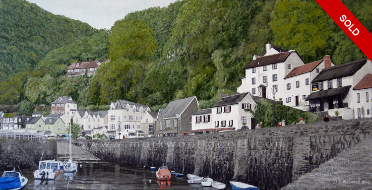 <i>Lynmouth Harbour</i><span>SOLD</span>