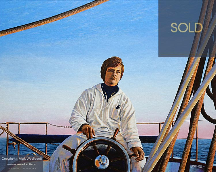 <i>On Board SY Albatros HYS 1974</i><span>SOLD at Echo Beach Gallery</span>
