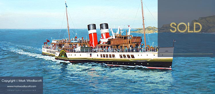 <i>The PS Waverley</i><span>SOLD at Echo Beach Gallery</span>