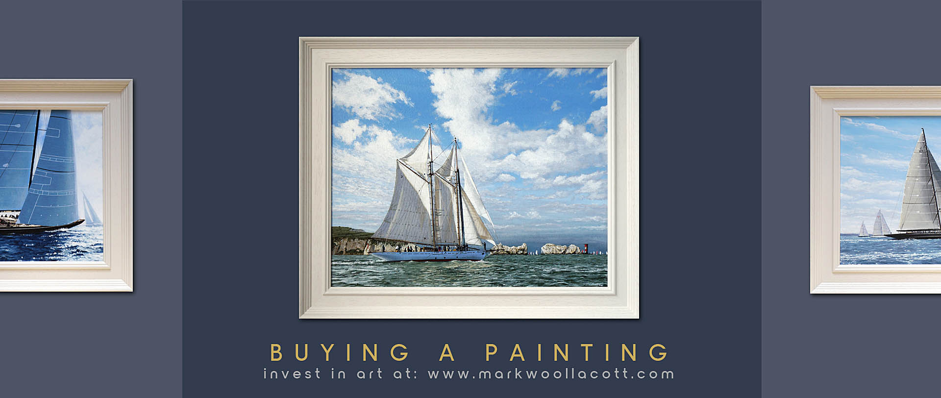 Professional marine artist paintings for sale