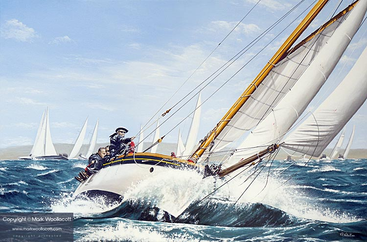 <i>Sophie, Round The Island Race, 2016</i><span>AVAILABLE FOR SALE</span>
