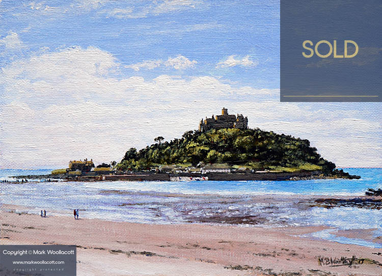<i>St. Michael's Mount, Cornwall</i><span>SOLD - Painting Commission</span>