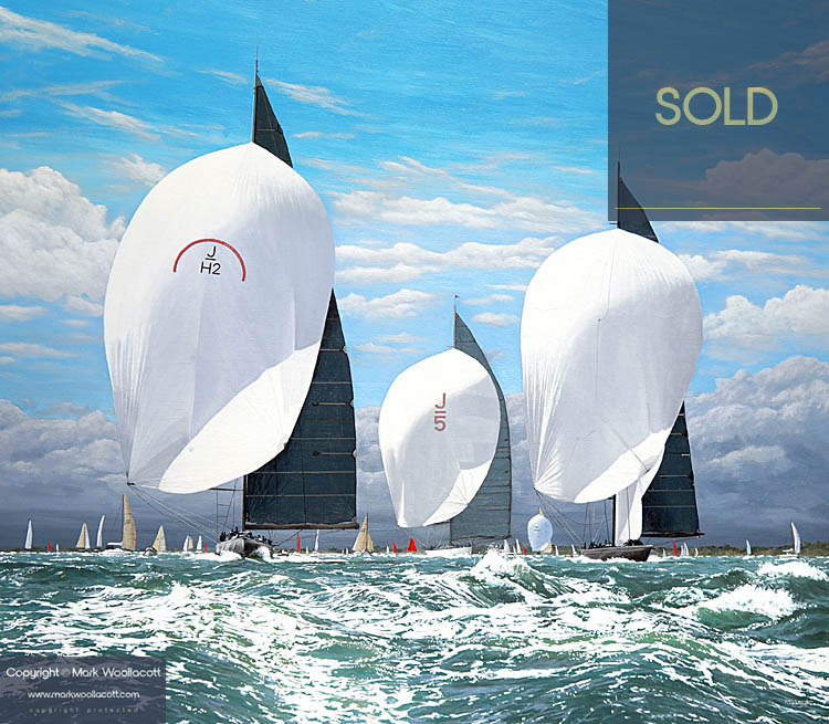 <i>Three J-Class Yachts</i><span>SOLD at Echo Beach Gallery</span>