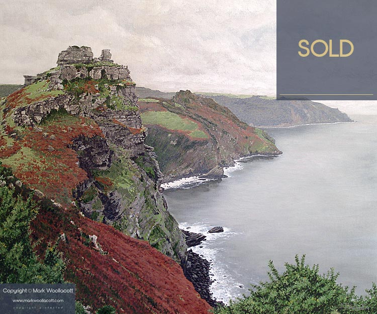<i>The Valley of the Rocks - Autumn</i><span>SOLD at Gallery at 500 Feet</span>
