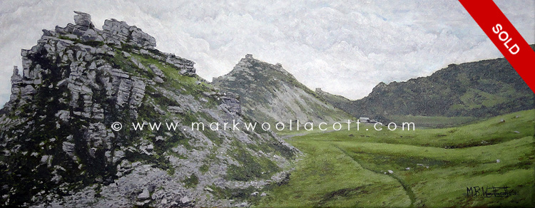 <i>Valley of the Rocks, Lynton</i><span>SOLD</span>